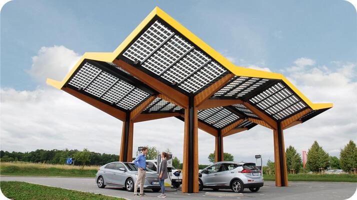 محطات شحن كهربائي سريع للسيارات الكهربائية